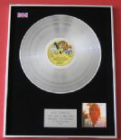ROD STEWART - Foot Loose & Fancy Free PLATINUM LP Presentation Disc
